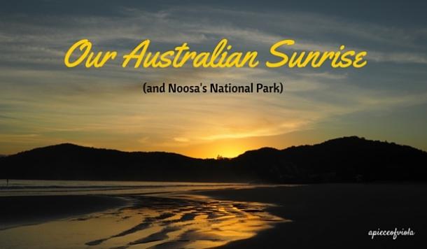 our australian sunrise