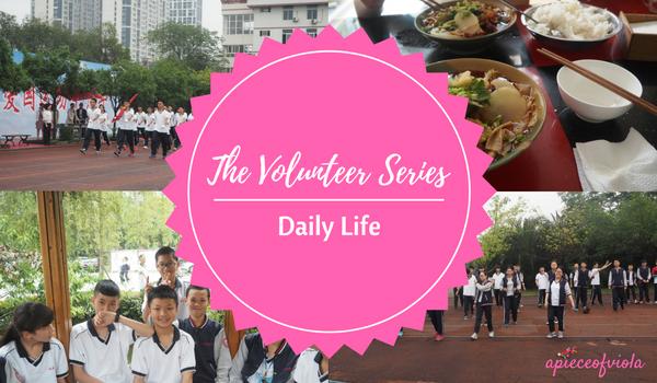 volunteer series daily life