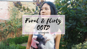 Floral and flirty OOTD | #JessWrightxKISS