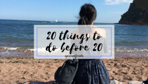 20 Things To Do Before20