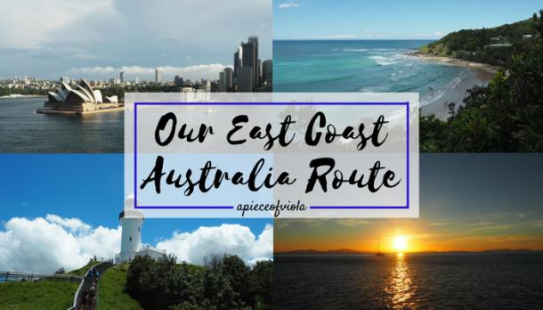 our-australia-route
